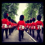 Some of the Queen's Guards