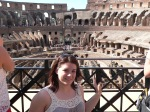 Sarah Grady at the coloseum