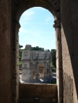 arch - can't remember it's name - outside the coloseum