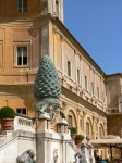 Giant Pine Cone at the Vatican Museum