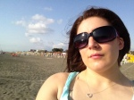 More me on the beach