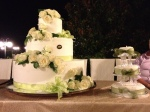 Italian cake on the left, British cake on the right!