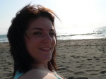 Me chilling on the beach